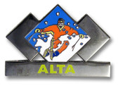 Alta Three Diamond Ski Resort Pin