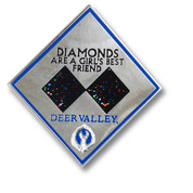 Deer Valley Diamond Ski Resort Pin