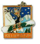 Killington Duck Ski Resort Pin