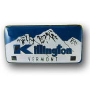 Killington Plate Ski Resort Pin