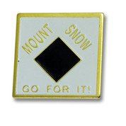 Mount Snow Diamond Ski Resort Pin