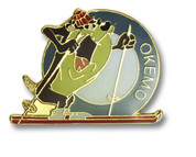 Okemo Taz Ski Resort Pin