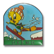 Okemo Tweety Bird Ski Resort Pin