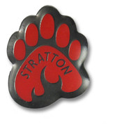 Stratton Bear Claw Ski Resort Pin