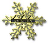 Stratton Flake Ski Resort Pin