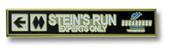 "Sugarbush ""Stain's Run"" Ski Resort Pin"