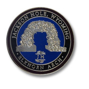 Jackson Hole Elkhorn Ski Resort Pin
