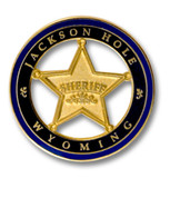Jackson Hole Sheriff Ski Resort Pin