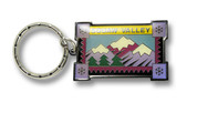 Squaw Valley Mountain Keychain Front