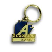 Arapahoe Basin Logo Ski Resort Keychain Front