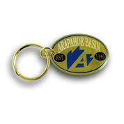 Arapahoe Basin Oval Ski Resort Keychain Front