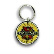 Aspen X-Treme Ski Resort Keychain Front