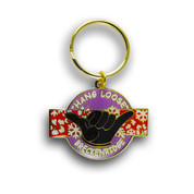 Breckenridge Hang Loose Ski Resort Keychain