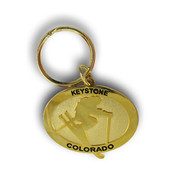 Keystone Gold Keychain Front