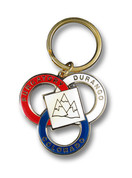Purgatory Three Ring Keychain Front