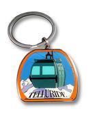 Telluride Gondola Keychain Front