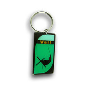 Vail Arial Keychain Front