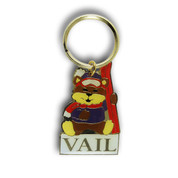 Vail Bear Keychain Front