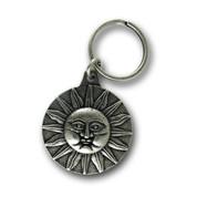 Sun Valley Silver Keychain