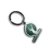 Deer Valley Ski Resort Keychain Front