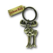 Jackson Hole Moose Ski Resort Keychain Front