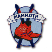 Mammoth Oval Ski Resort Patch