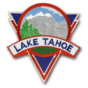 Lake Tahoe Mountain Ski Resort Patch