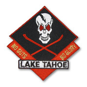 Lake Tahoe Skis and Skull Ski Patch