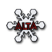 Alta Snowflake Ski Patch
