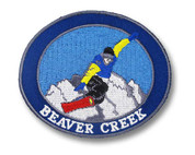 Beaver Creek Snowboard Patch
