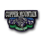 Copper Mountain Airborne Ski Patch