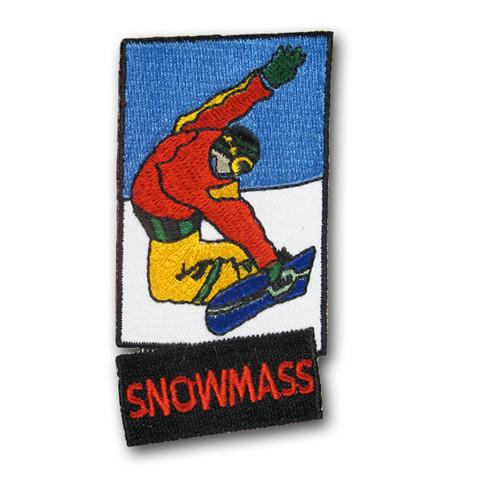 Snowmass Snowboard Patch