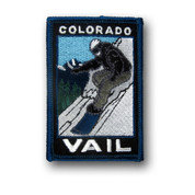 Vail Snowboarder Patch