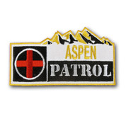 "Aspen ""Patrol"" Ski Resort Ski Patch"