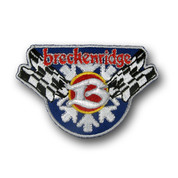 Breckenridge Flags Ski Patch