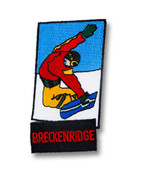 Breckenridge Snowboard Patch