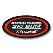 Steamboat Colorado Ski Oval Patch