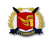 Steamboat Logo Ski Patch
