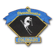 Steamboat Skier Ski Resort Patch