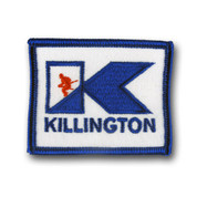 Killington Logo Ski Patch
