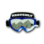 Heavenly Goggles Ski Resort Magnet