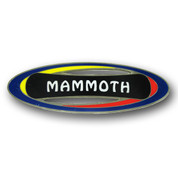 Mammoth Oval Ski Resort Magnet