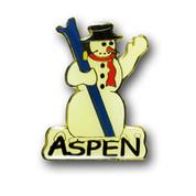 Aspen Snowman Magnet