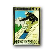 Breckenridge Snowboard Magnet