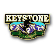 Keystone Mountain Range Magnet