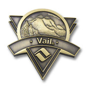 Vail Gold Color Magnet