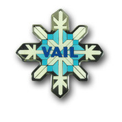 Vail Snowflake Magnet