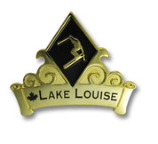 Lake Louis Canada Ski Resort Pin