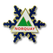 Norquay Canada Ski Resort Pin