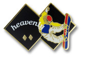 Heavenly Black Diamond Ski Resort Pin